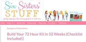 Six Sister 72 Checklist