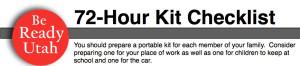 Utah Kit Checklist